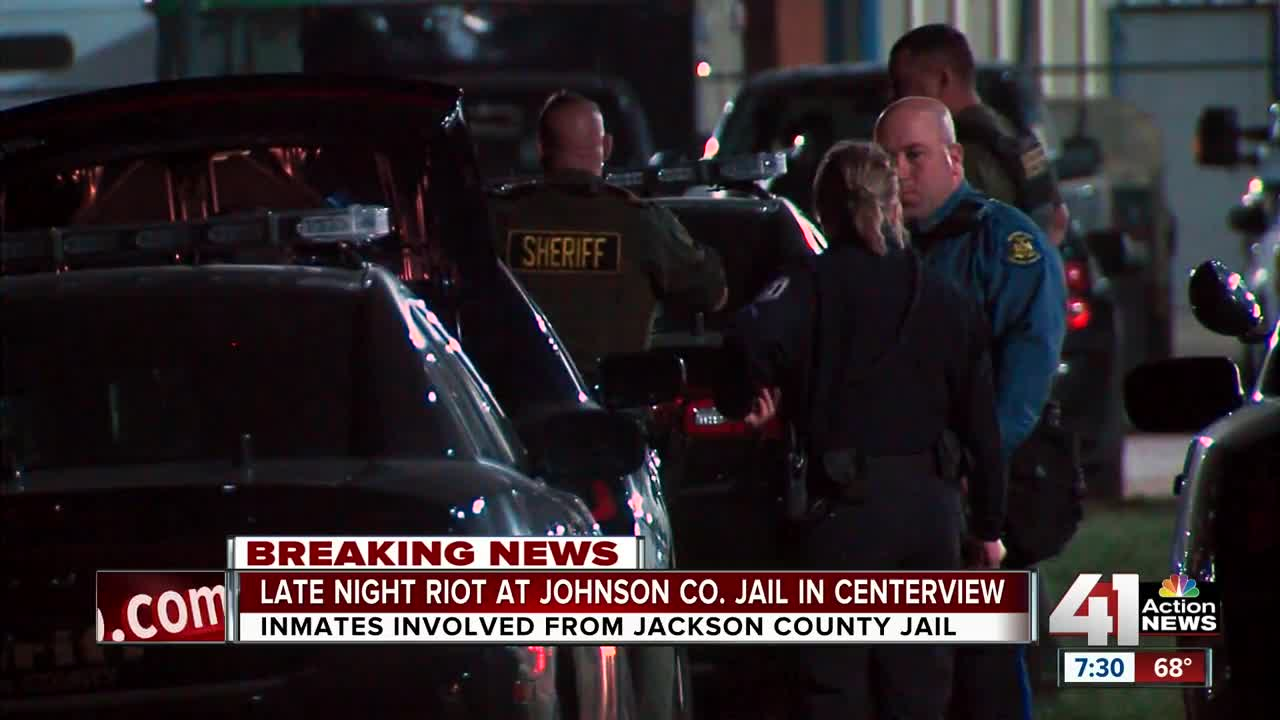 Inmates riot at Johnson County, Missouri jail
