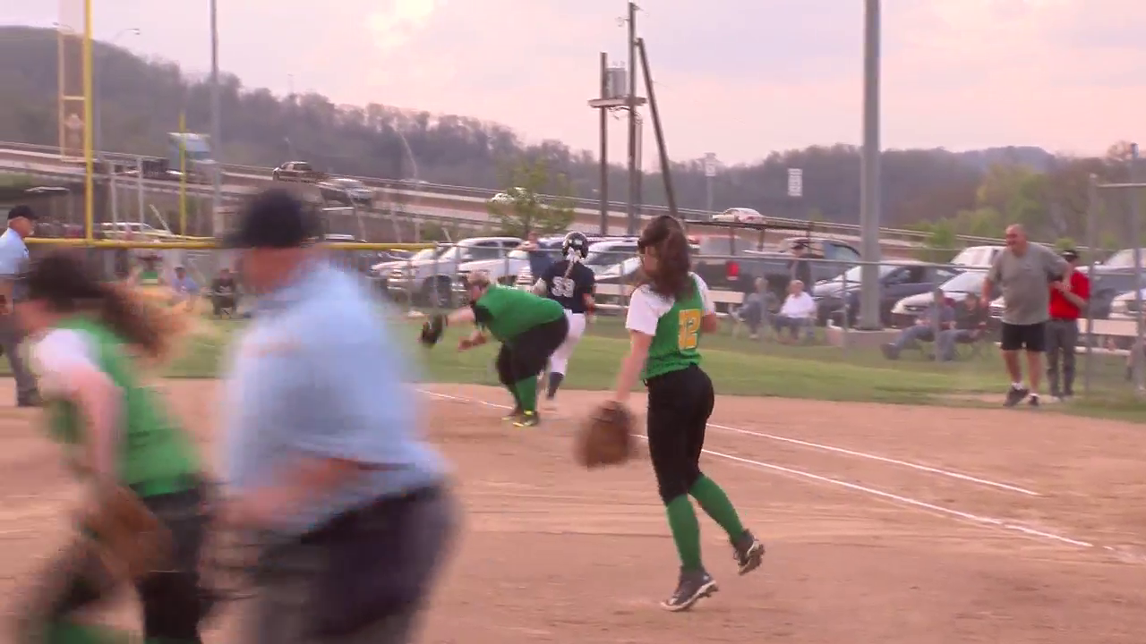 4.25.16 Video - Madonna, Bishop Donahue advance to OVAC 1A softball final