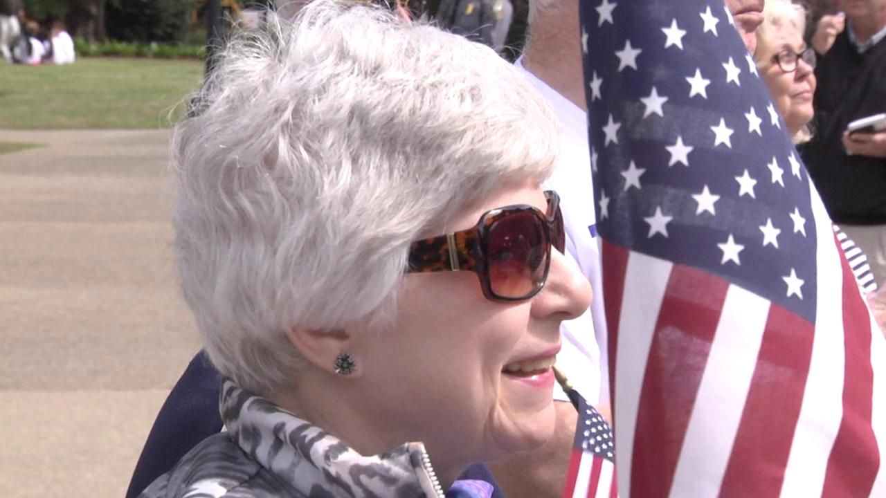 Trump supporters host rally at State House