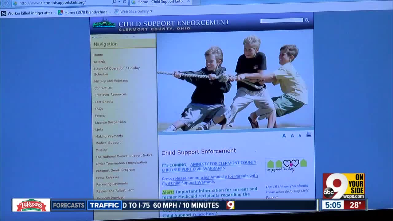 Clermont County offers amnesty for parents with child support warrants