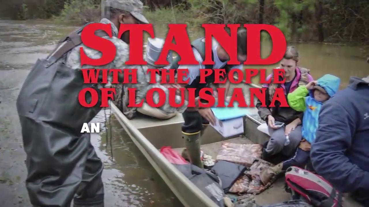 Help out Louisiana Flood victims