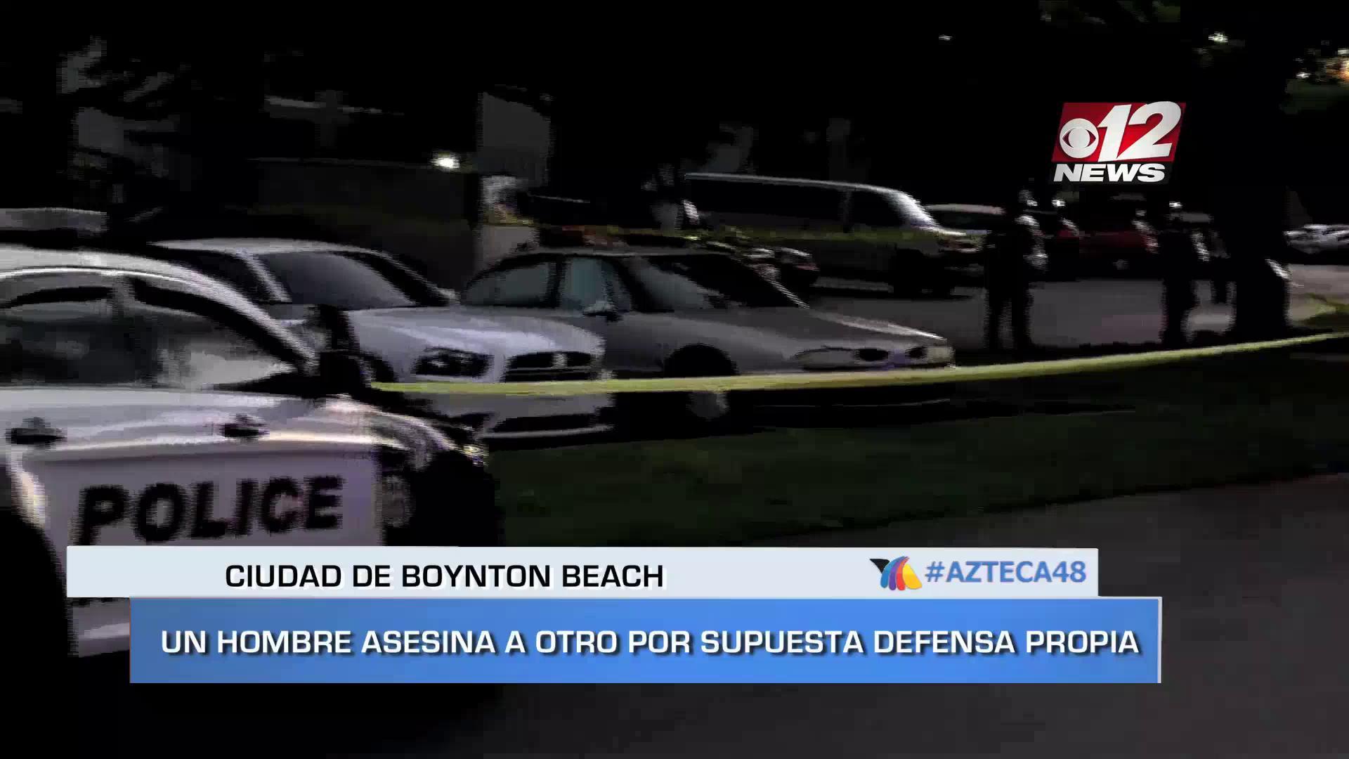 NOTI VIDEO: Un hombre asesina a otro por supuesta defensa propia