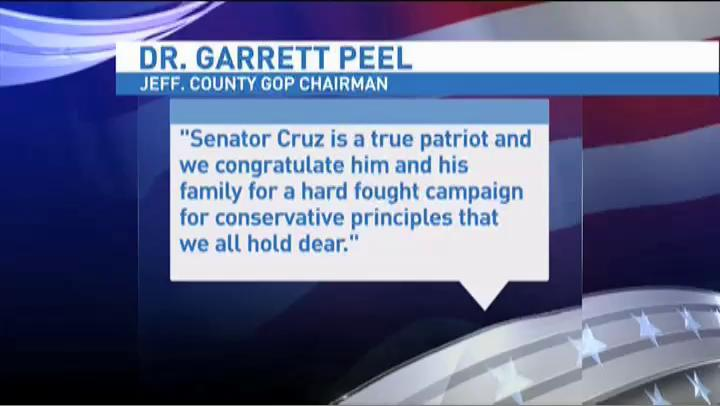 Jefferson County GOP Chairman provides statement to KFDM about Cruz leaving race