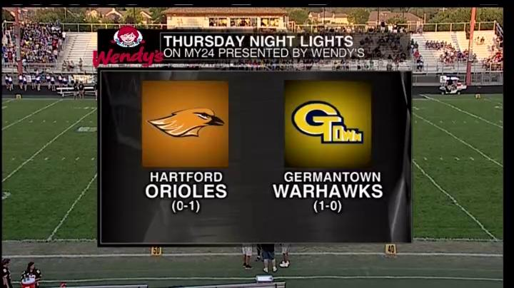 Complete Game Week 2 Hartford Union High School vs Germantown