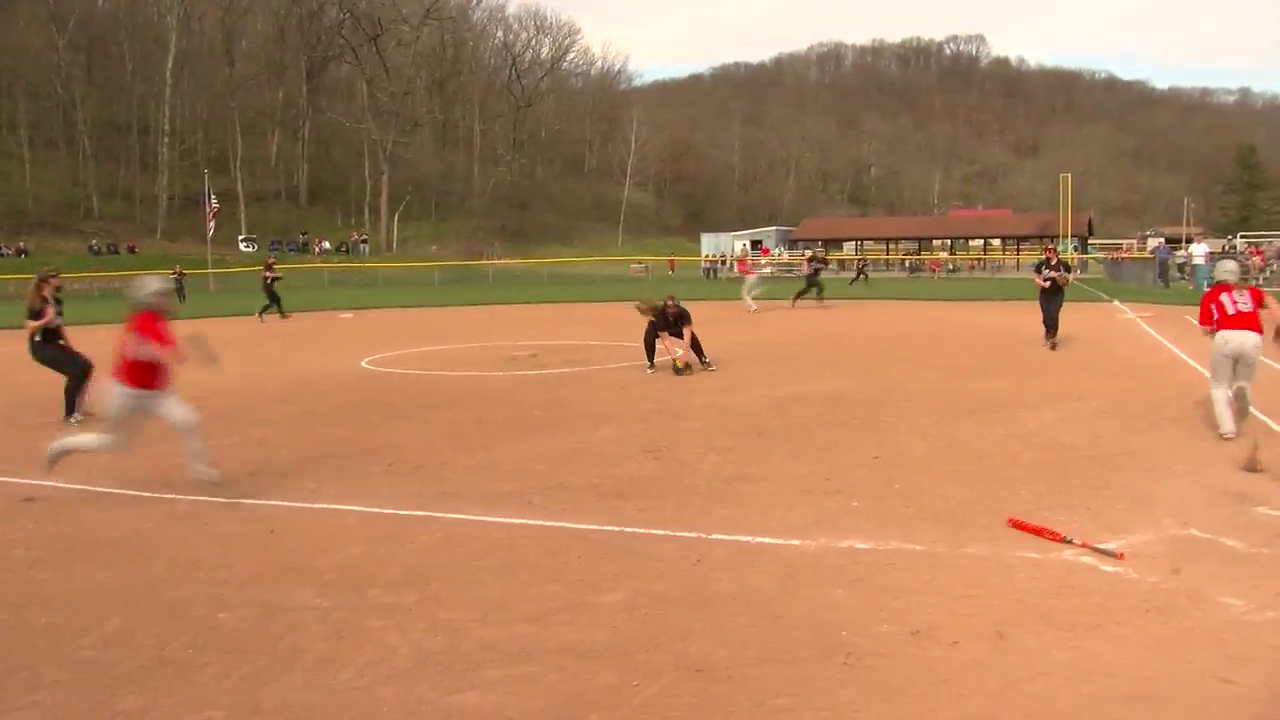 4.22.16 Team of the Week - St. Clairsville softball