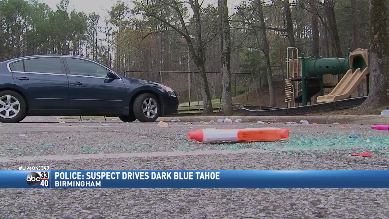 Dangers of skip day: Suspect fired shots into crowd of students after his car was egged.