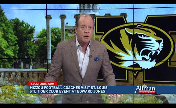 New Mizzou Coach Odom Visits St. Louis