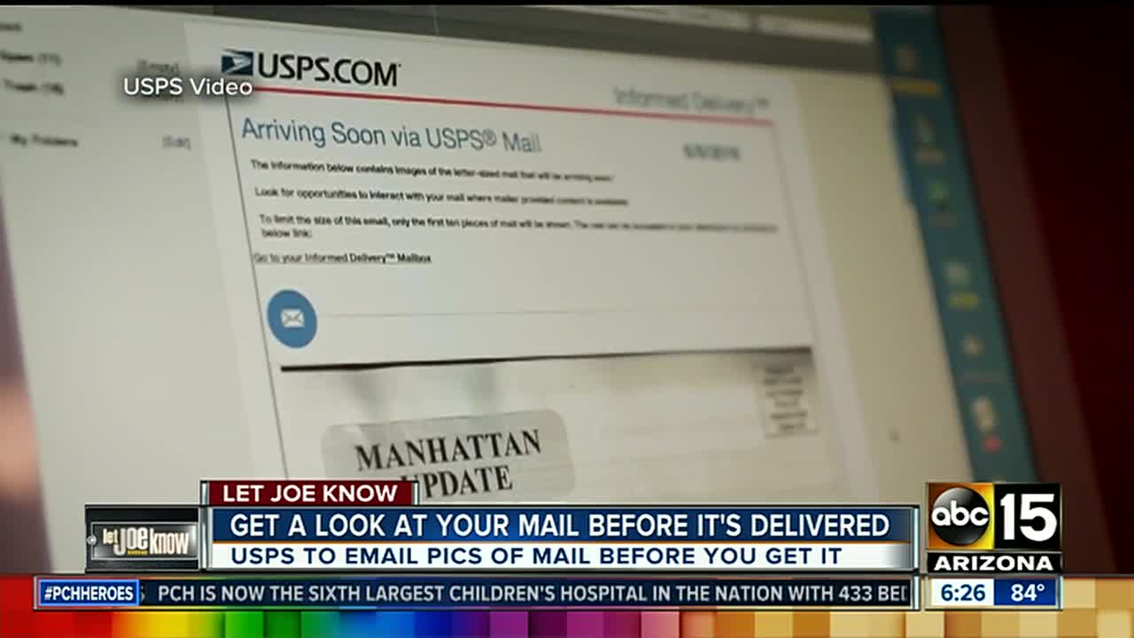 Take a look at your mail before you get it with a new USPS feature