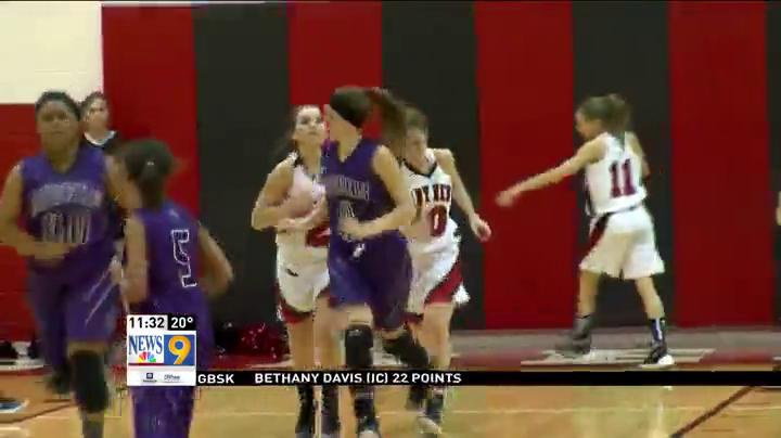 1.11.16 Video - Martins Ferry Vs Bellaire - Girls Basketball