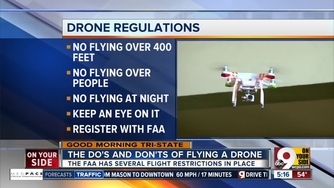So where exactly can you fly a drone? And what are the rules?