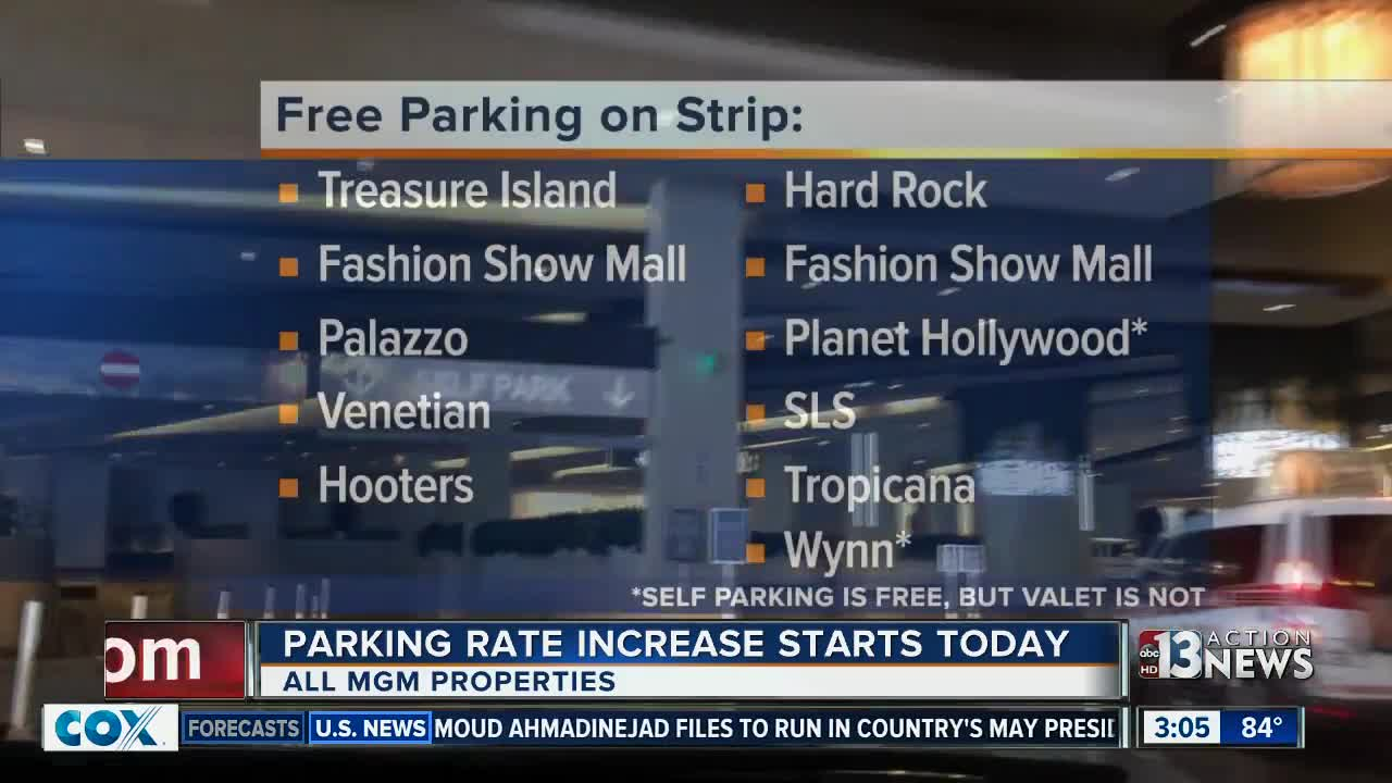 Free parking on Las Vegas Strip you may not know about