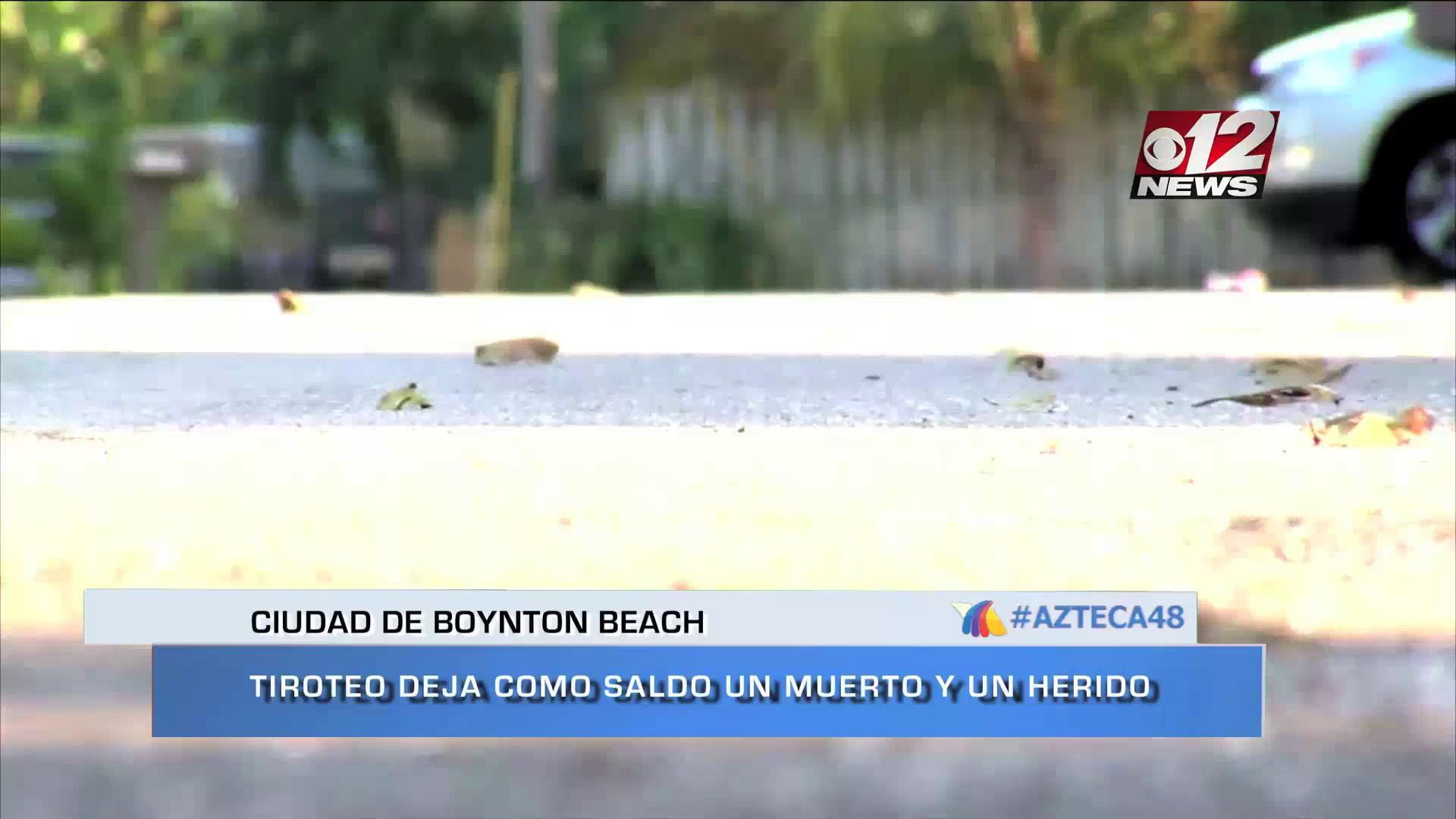 Noti video: Homicidio en Boynton Beach - Cuerpo hallado en Jupiter-Refugiados